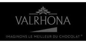 Logo marque Valrhona - chocolatier