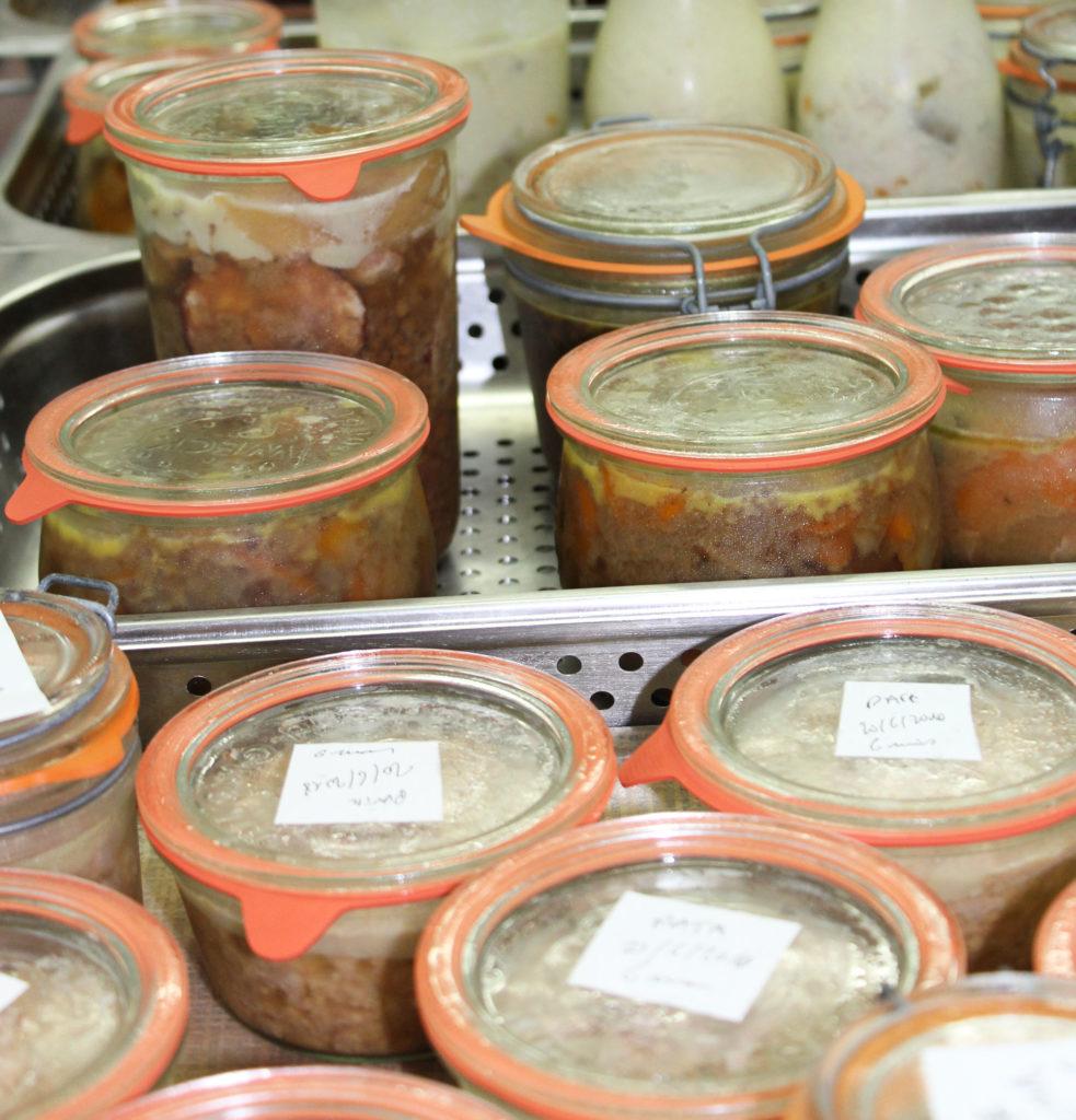 Bocaux, semi-conserves et produits stérilisés