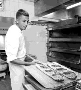 Mathieu Favier, Chef Boulanger
